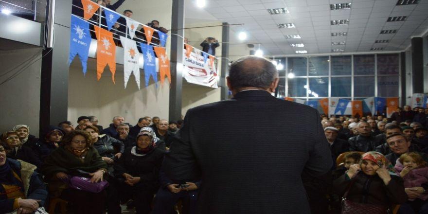 Kastamonu Belediye Başkanı Tahsin Babaş, Mahalleliler İle Bir Araya Gelmeye Devam Ediyor