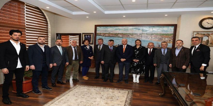 Tmok'un Spor Kültürü Ve Olimpik Eğitim Komisyonu Mersin'de Toplandı