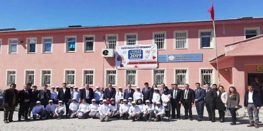 Daire Başkanı Eriş'ten Okul Ziyareti