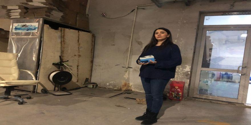 263 Adet Su Sayacını Çalan Hırsızlar Güvenlik Kamerasına Takıldı