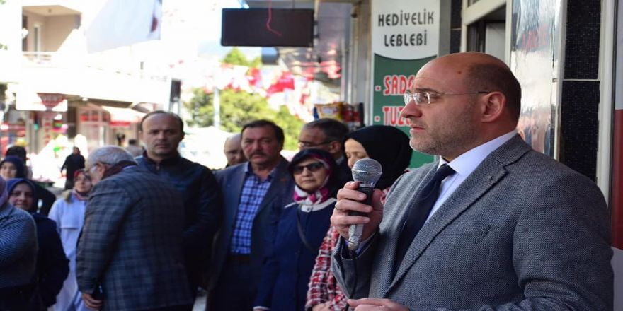 """Başkan Ali Çetinbaş: """"Domaniç'e 37 Milyon 402 Bin Tl'lik Yatırım Yaptık"""""""