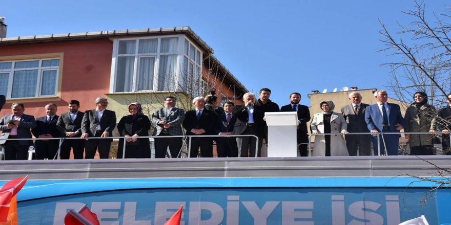 """Binali Yıldırım: """" 31 Mart'ta Sancaktepe'de Sancağı Göklere Çıkaracağız """""""