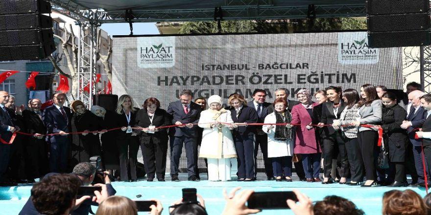 Emine Erdoğan, Bağcılar'da Özel Eğitim Ve Uygulama Okulunun Açılış Törenine Katıldı