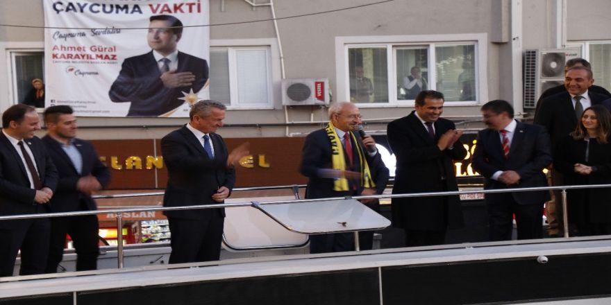 """Chp Genel Başkanı Kılıçdaroğlu: """"Siyaset Bir Hizmet Yarışıdır, Kavga Alanı Değildir"""""""
