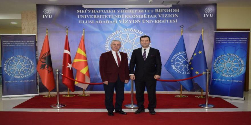 Uluslararası Vizyon Üniversitesi İle Balkan Üniversitesi Arasında İşbirliği