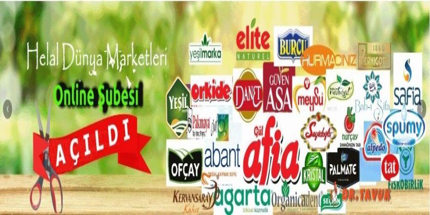 Online Helal Dünya Marketi Açıldı