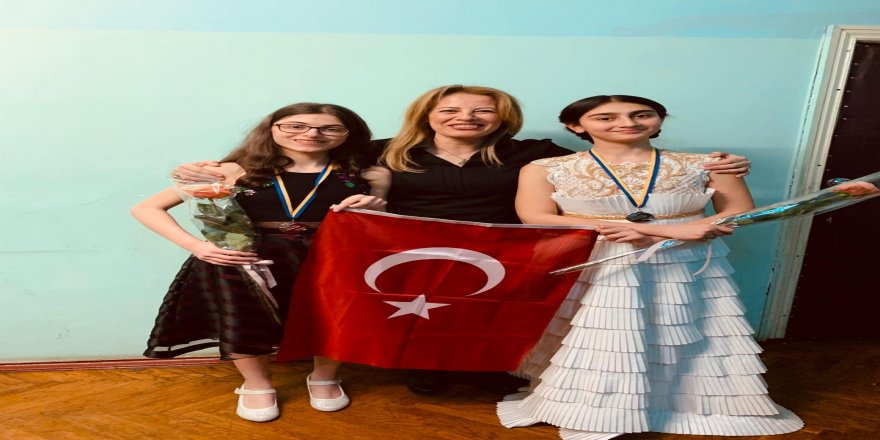 Ukrayna'daki arp yarışmasında Türk öğrenciler ikinci oldu