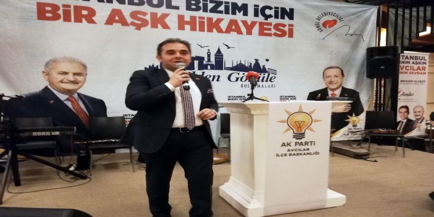 """Ak Parti Avcılar Belediye Başkan Adayı Ulusoy: """"Ambarlı Turizm Merkezi Olacak"""""""