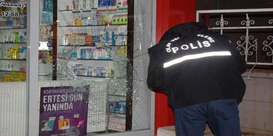 Malatya'da Eczane Hırsızları Polisten Kaçamadı