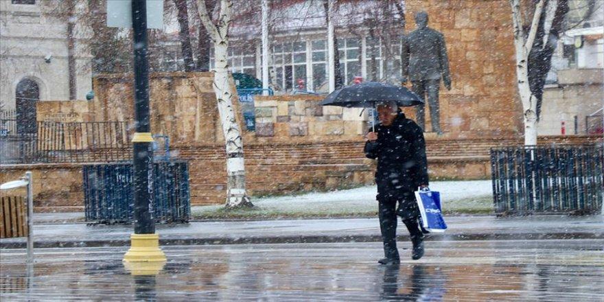 Meteorolojiden kar ve soğuk hava uyarısı