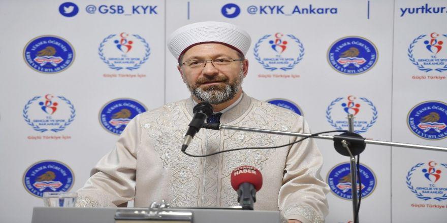 Prof. Dr. Ali Erbaş Öğrencilerle Buluştu