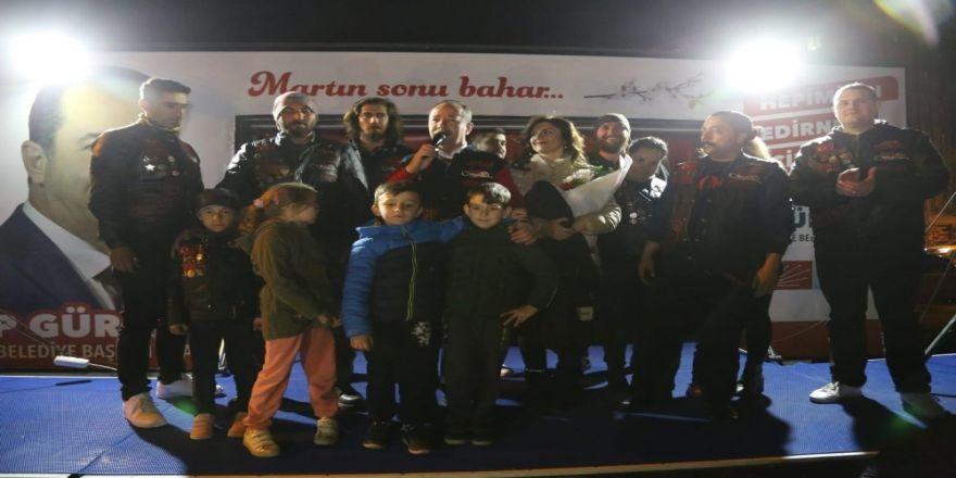 Gürkan'a Türk Chopper'dan 'Onursal' Yelek