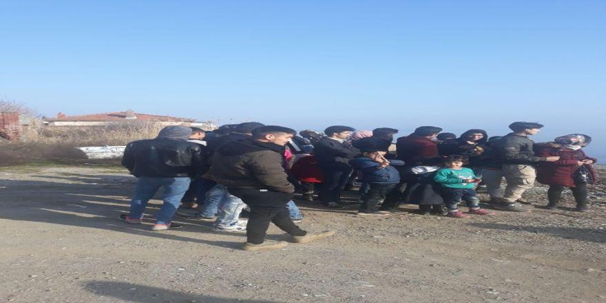 Afganistan Uyruklu 21 Kaçak Yakalandı