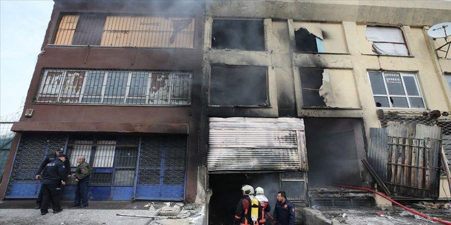 İskitler'de metruk binadaki yangında 5 kişi hayatını kaybetti