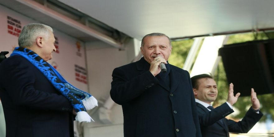 """Cumhurbaşkanı Erdoğan: """"Türkiye'de Kürdistan Diye Bir Bölge Yok. Irak'ın Kuzeyinde Var. Çok Seviyorsan Defol Oraya Git"""""""