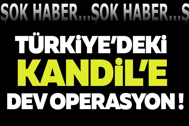 Türkiye'deki 'Kandil'e Dev Operasyon! 9 Nokta Temizlendi