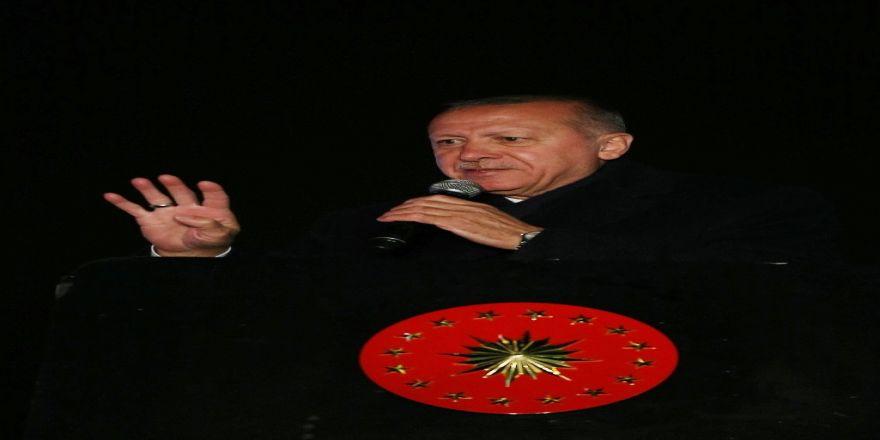 Cumhurbaşkanı Erdoğan Sarıyer Mitinginde Vatandaşlara Seslendi