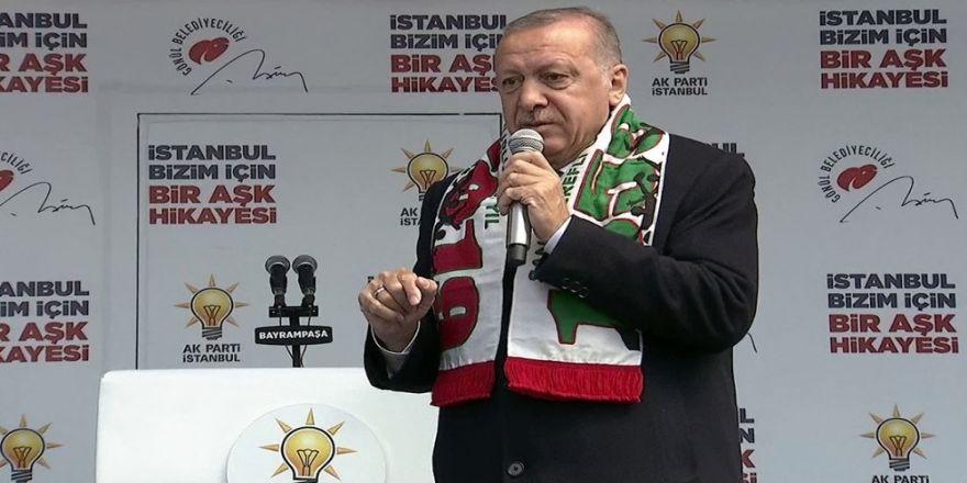 """Cumhurbaşkanı Erdoğan: """"Belediye Başkanlığı Seçimi İçin Terör Baronları Niye Kampanya Yürütüyor"""""""
