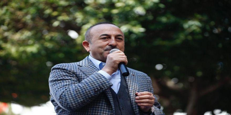 """Bakan Çavuşoğlu: """"Hdp, Pkk'nın Doğrudan Yüzde Yüz Kontrolündedir"""""""