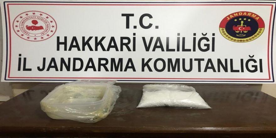 Dere Yatağı Kenarında Bir Kilo Uyuşturucu Ele Geçirildi
