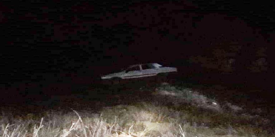 Araç Uçuruma Yuvarlandı: 1 Ölü, 1 Yaralı