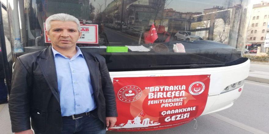 Kırşehir'de Şehit Aileleri, Çanakkale'ye Gitti