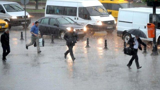 Meteoroloji'den 4 İle Sağanak Yağış Uyarısı