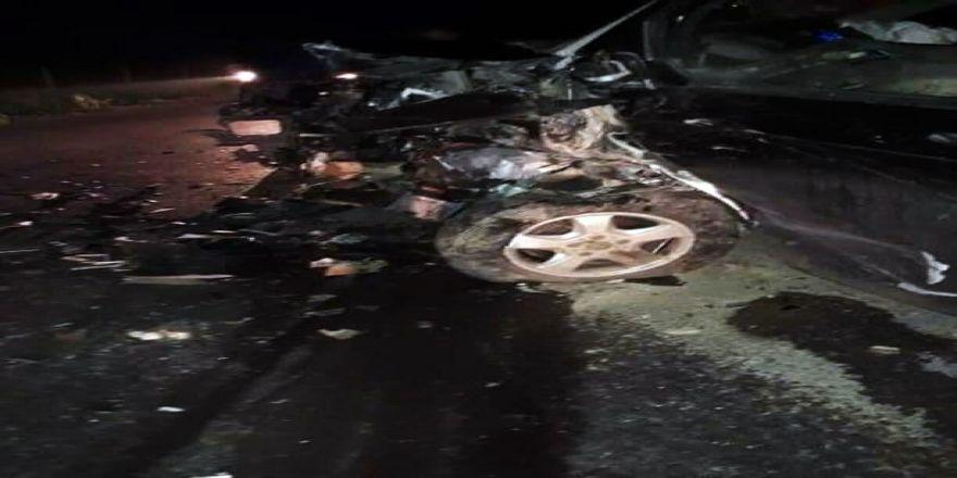 Otomobil İle Panelvan Çarpıştı: 5 Yaralı
