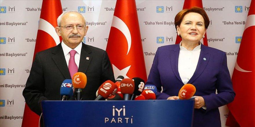 Kılıçdaroğlu'dan Akşener'e ziyaret