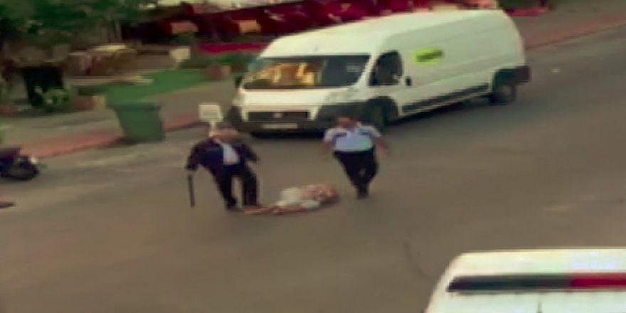 Kadın Turisti Döven Polise 740 Lira Para Cezası