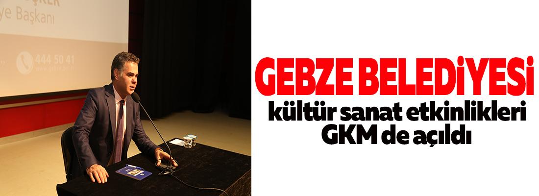 GKM'da etkinlik sezonu Gazeteci Özışık'la açıldı