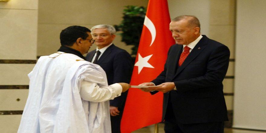 Erdoğan, Moritanya Büyükelçisini kabul etti