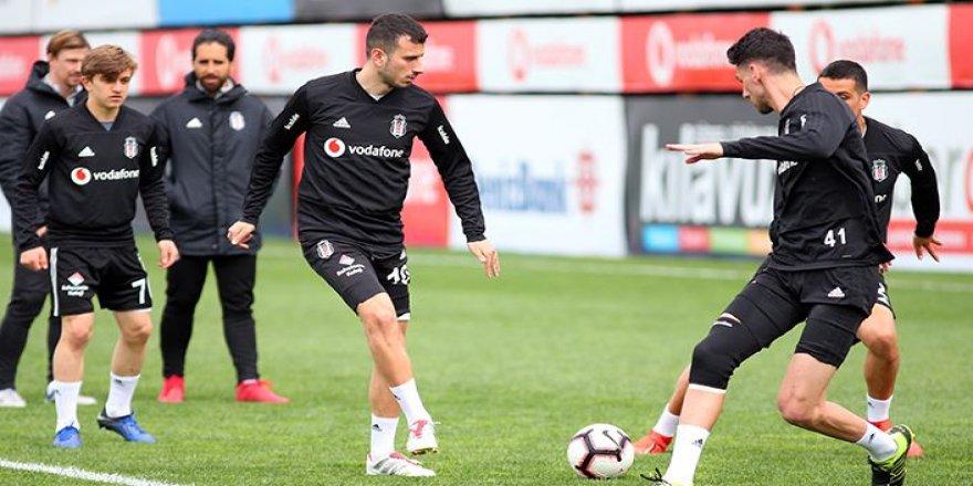Beşiktaş, Başakşehir Hazırlıklarına Başladı