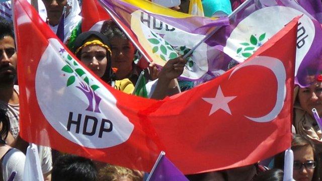 HDP'den Şaşırtan 29 Ekim Paylaşımı