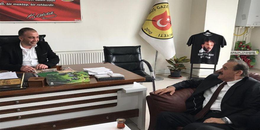 Başkan Karayel'den Mgc'ye Ziyaret