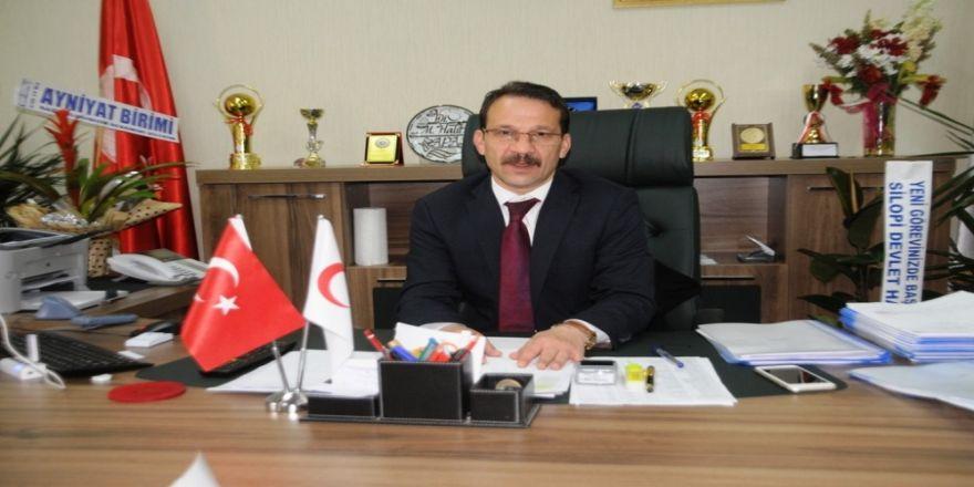 Cizre Devlet Hastanesi Başhekimi Sapan Görevine Başladı