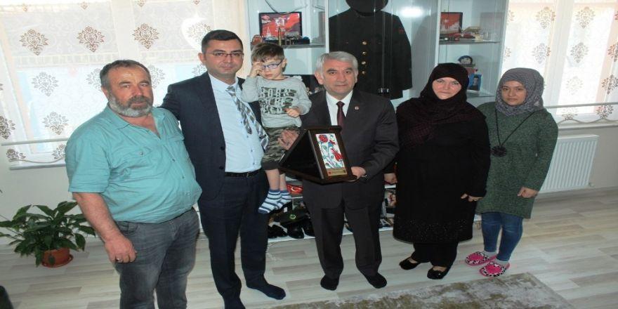 Kütahya Ceza İnfaz Kurumu'ndan Şehit Ailesine Ziyaret