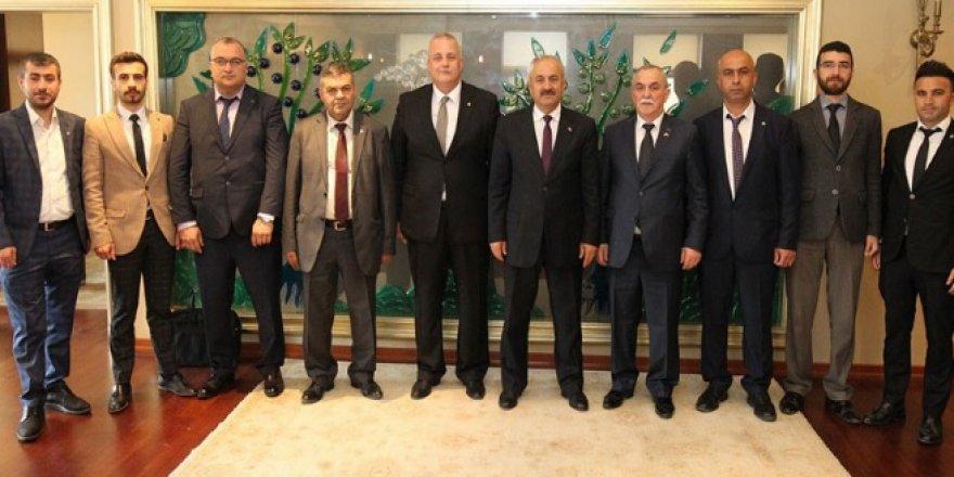 MHP'den Büyükgöz'e ziyaret