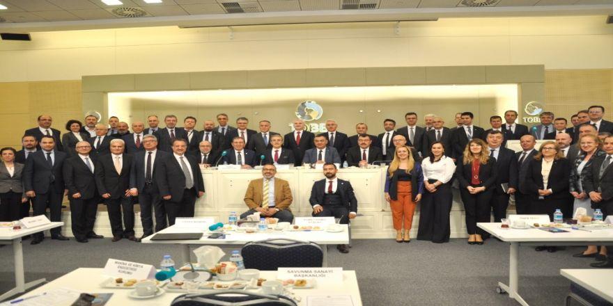Başkan Büyüksimitci, Savunma Sanayi Meclis Toplantısına Katıldı