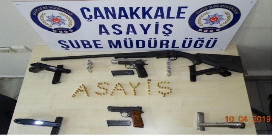 Çanakkale'de Silahlı Çete Çökertildi