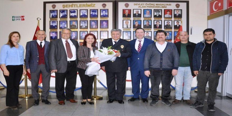 Agc'den İl Emniyet Baştuğ'a Polis Haftası Ziyareti