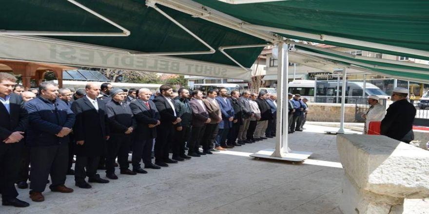 Şuhut'ta ''Eğitim Çalışanlarına Şiddete Hayır'' Yürüyüşü