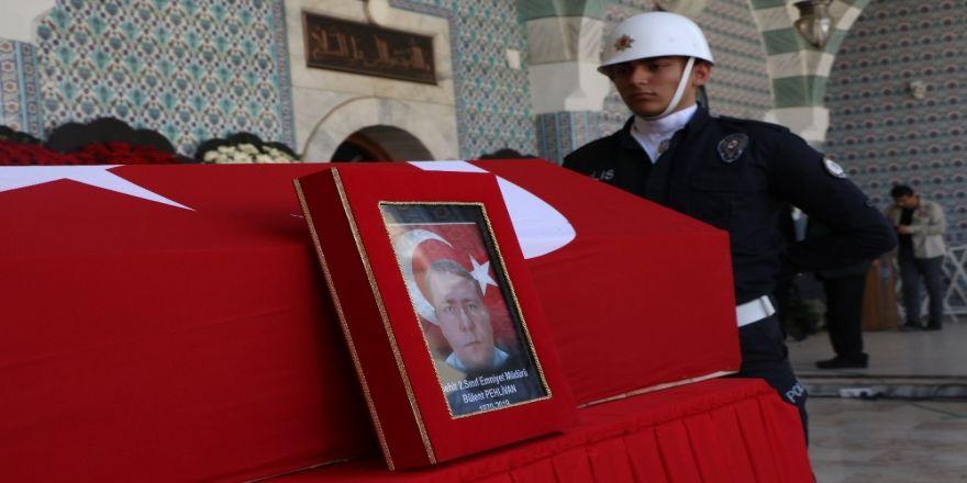 Görev Sırasında Şehit Olan Polis Son Yolculuğuna Uğurlandı