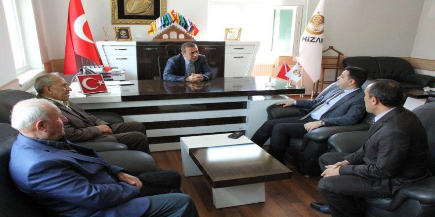 Kaymakam Hamitoğlu'ndan Belediye Başkanı Aktaş'a Ziyaret