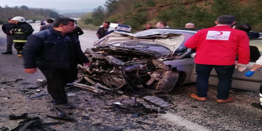 Bursa'nın Orhaneli İlçesinde Kaza: 2 Ölü, 8 Yaralı