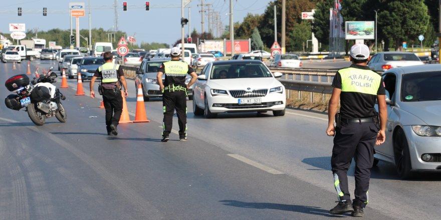 Sürücü ve araçlara ceza yağdı