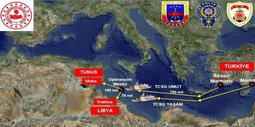 Uluslararası Sularda Büyük Uyuşturucu Operasyonu