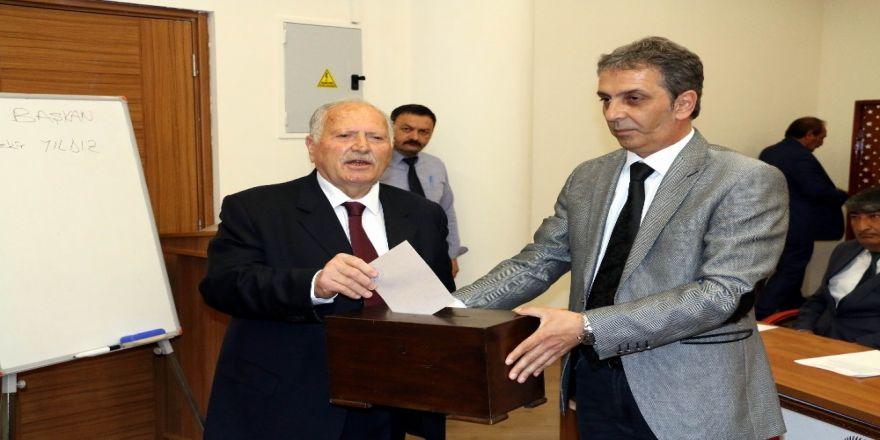 Erzincan İl Genel Meclisi Yeni Başkanını Seçti