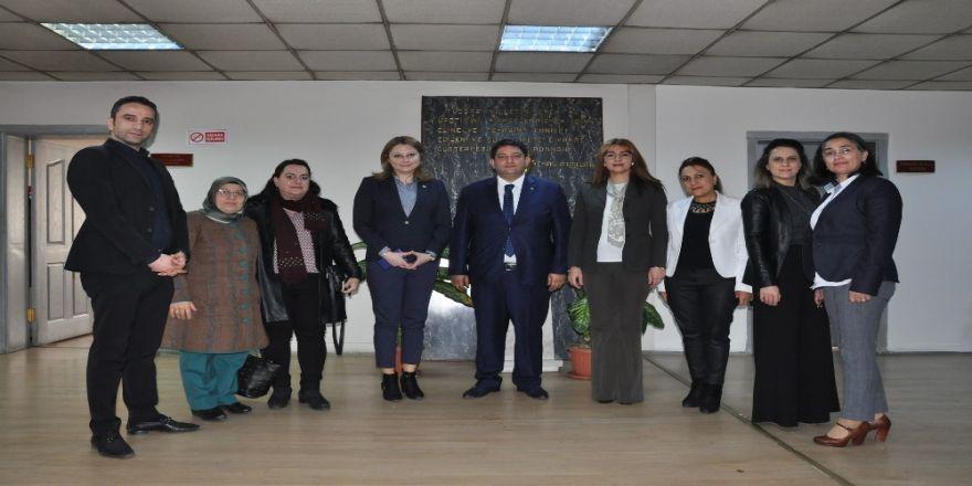 Kadın Girişimcilerden, Etb Başkanı Hakan Oral'a Ziyaret