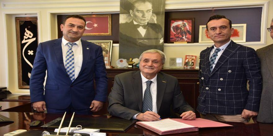 Bozüyük Belediyesi'nde Sosyal Denge Tazminatı Sözleşmesi İmzalandı